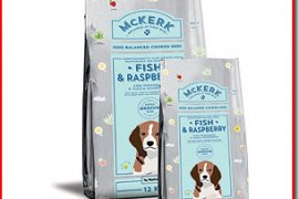 McKerk Dog Adult Medium Fish & Raspberry